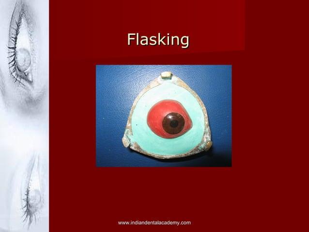 Flasking  www.indiandentalacademy.com
