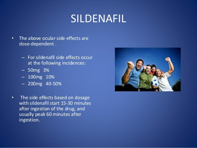 Effects and side effects of viagra