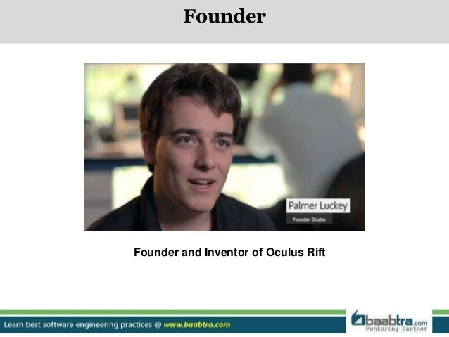 343ccfc04278 Founder Founder and Inventor of Oculus Rift  4.