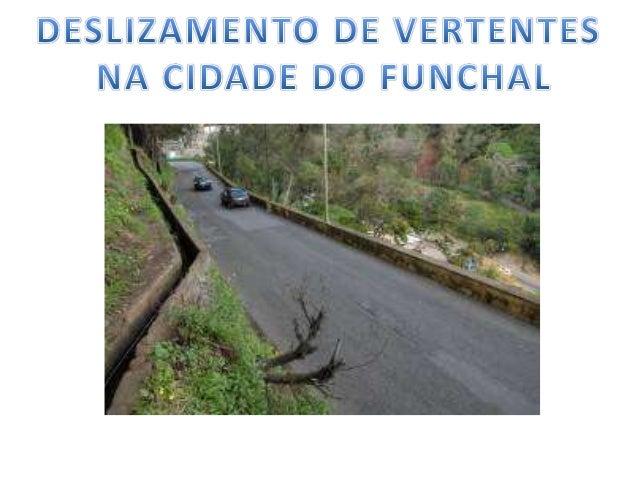 Ocupação antrópica cidade do funchal - deslizamento de vertente-11ºbg Slide 2