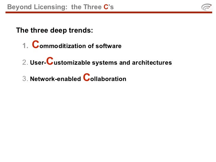 So how might all this apply to open courseware?
