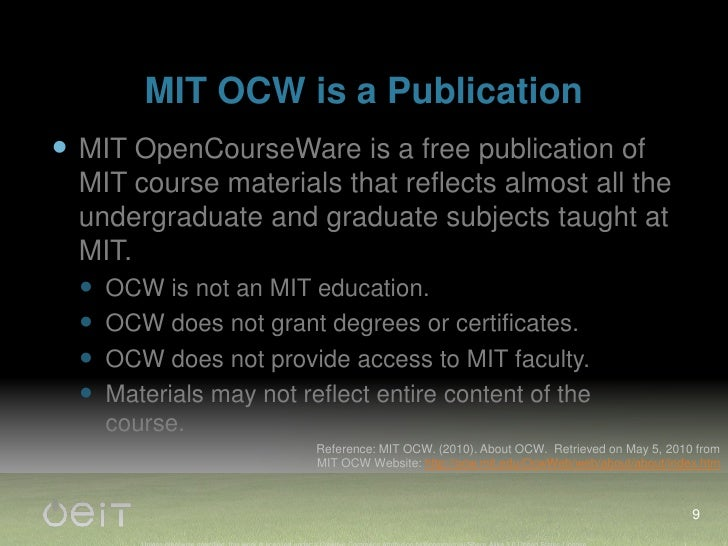 What do you wish were possible with MIT OCW?<br />Digg-rank up or down courses (popularity), thumbs up, thumbs down<br />C...