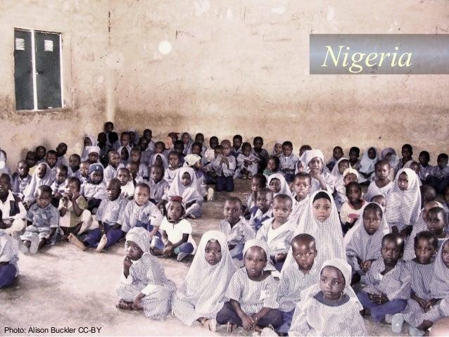 Nigeria  Photo: Alison Buckler CC-BY