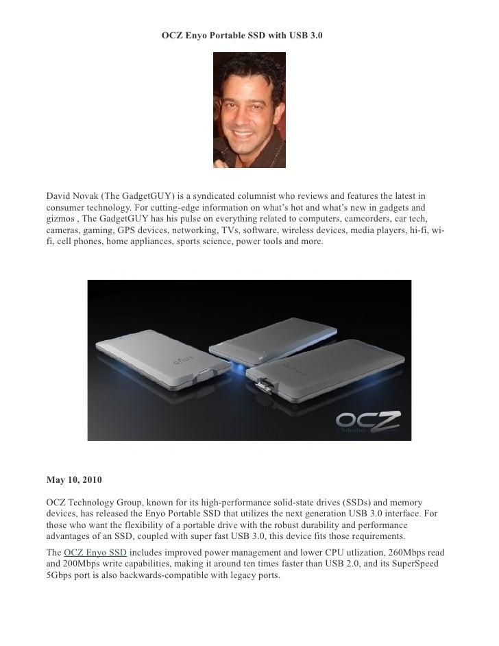 OCZ ENYO USB 3.0 PORTABLE SSD DRIVER FOR WINDOWS MAC
