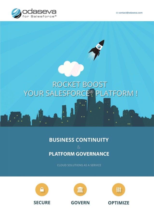 Odaseva for Salesforce - Dreamforce '14 brochure