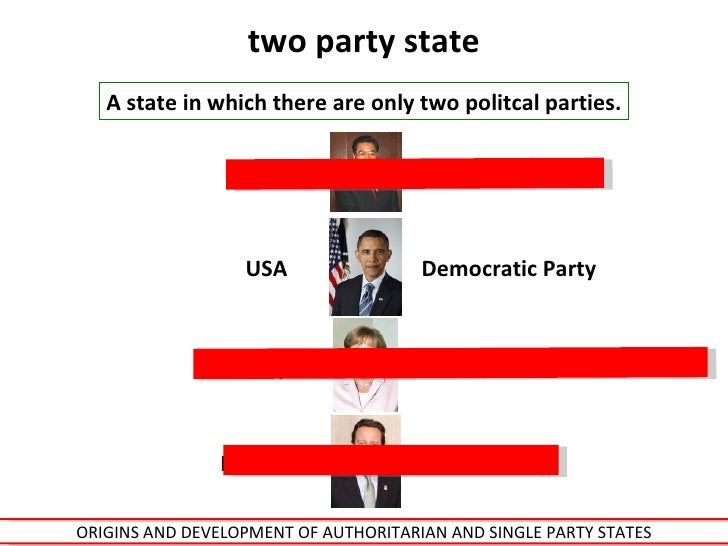 single party state
