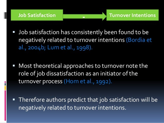 impact of job satisfaction and dissatisfaction management essay Work motivation, job satisfaction, and organisational commitment of library personnel in academic and research libraries in oyo state, nigeria, adeyinka tella resources management attitude has direct impact on job satisfaction organizational.