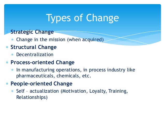 understand the background to organizational strategic change This assignment examines organizational change, focusing on the distinction of changes according to their scope and presenting a typology of evolutionary and strategic changes it will depend on how well these organisations can manage these situations by understanding the opportunities and.