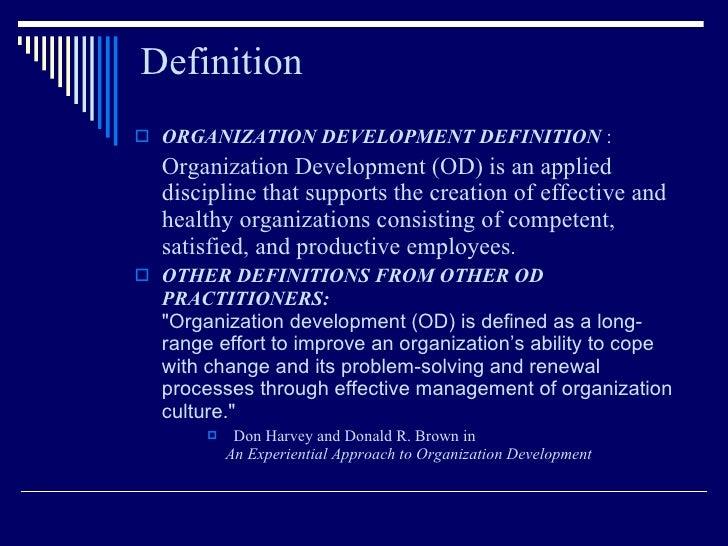 Organisation Developement and change managemnt Slide 2
