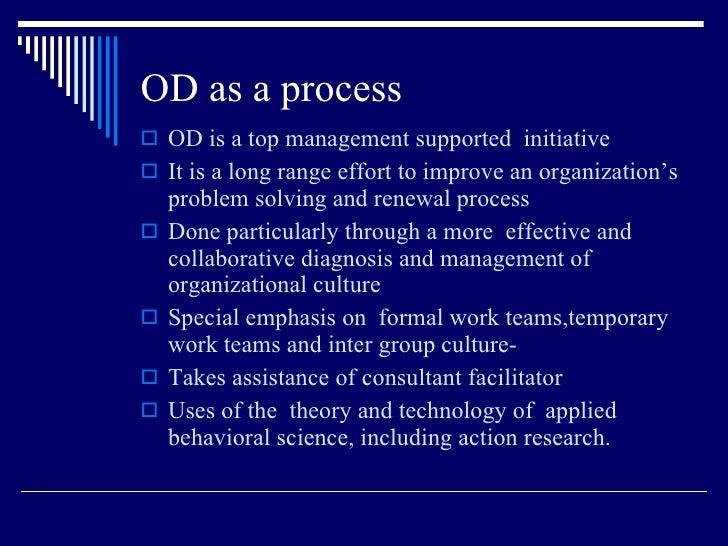 Organisation Developement and change managemnt Slide 3