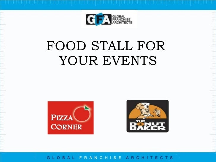 FOOD STALL FOR  YOUR EVENTS