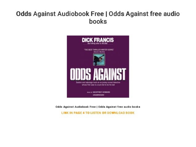 Odds Against Audiobook Free | Odds Against free audio books