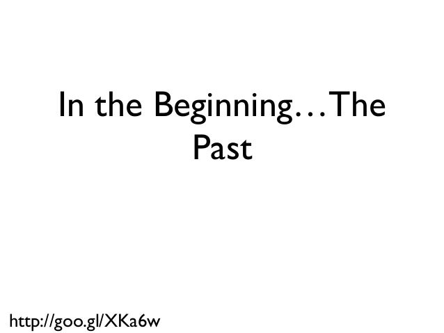 An Example of a Lean Startup: The Past, Present and Future Slide 3