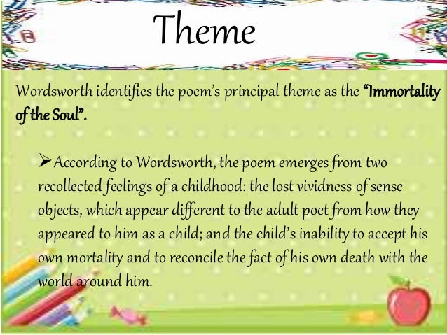 william wordsworth growing old ode investigation essay