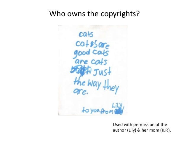 owns copyright dissertations