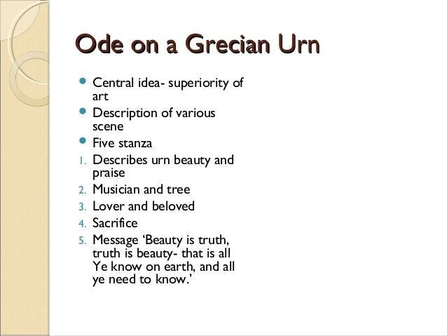 Ode on a grecian urn essay
