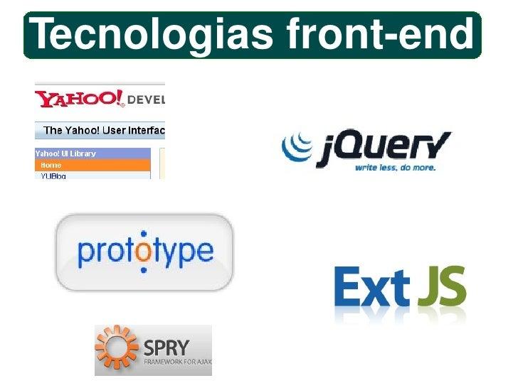 Tecnologias front-end
