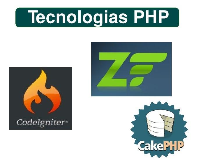 Tecnologias PHP