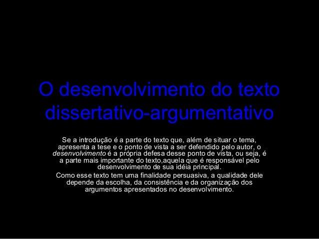 Texto argumentativo conclusão