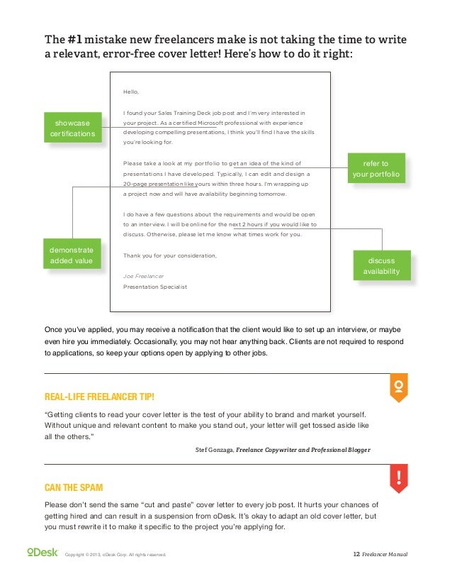 Stunning Freelance Copywriter Cover Letter Pictures - Printable ...