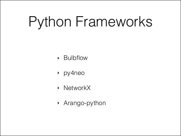 Odessapy2013 - Graph databases and Python Slide 3