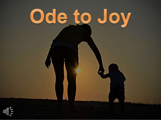 Ode to joy (v.m)