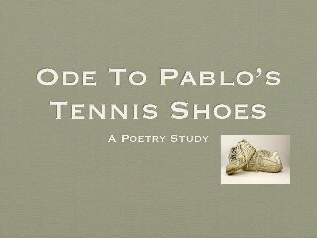 Pablo S Tennis Shoes