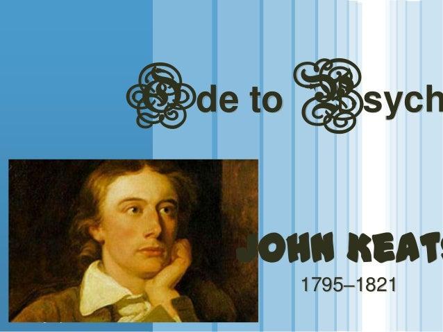 www.themegallery.com LOGO Ode to Psych John Keats 1795–1821