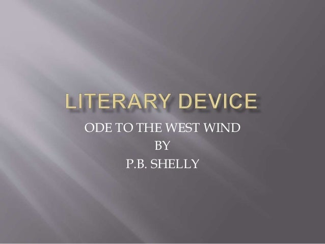 Ode to the West Wind by Percy Bysshe Shelly