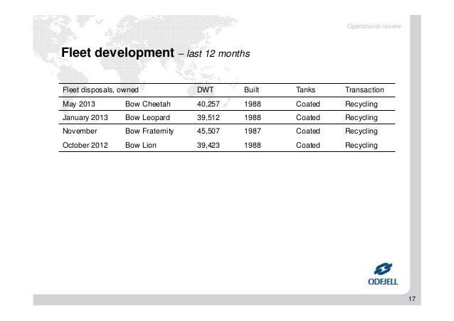 Odfjell Q2 2013 results presentation