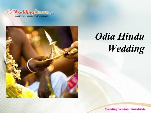 Odia Hindu Wedding