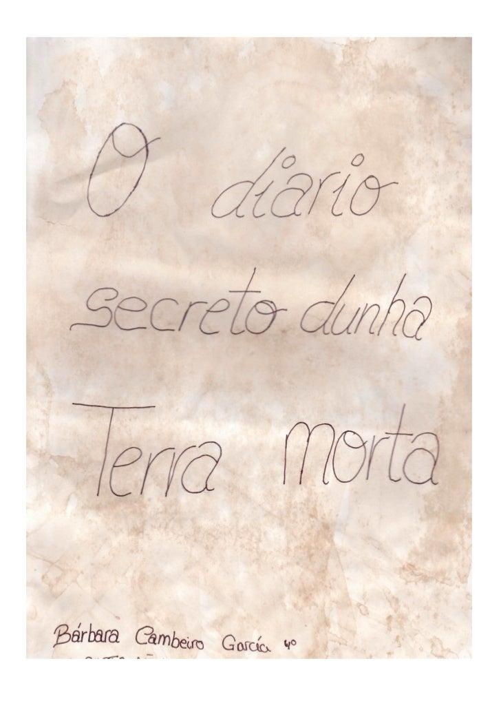 O diario secreto dunha terra morta