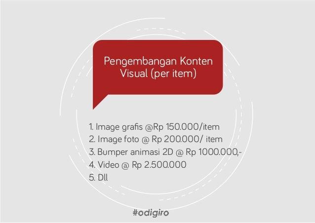 Online Ad Management  1. Fb page ad (15% dari biaya iklan resmi )  2. Instagram ad (15% dari biaya iklan resmi ) Catatan...