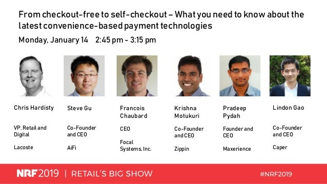 From checkout-free to self-checkout – What you need to know about the latest convenience-basedpayment technologies Monday,...