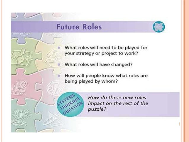  Step 5. The groups choose core changes. They now needed to identify a few core changes, to provide a better focus for ou...