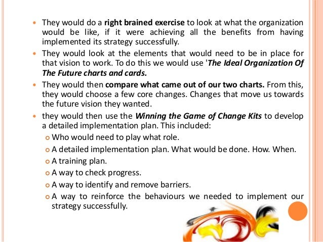 od interventions case study An action research case study was used by use of organization development  interventions in order to improve procurement practices and the budgetary  control.