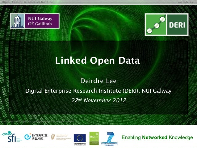 Digital Enterprise Research Institute                                                                              www.der...