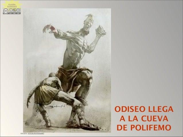 IMAGEN: SOCIALES1ºDDIARIO ODISEO LLEGA A LA CUEVA DE POLIFEMO CLARA ÁLVAREZ