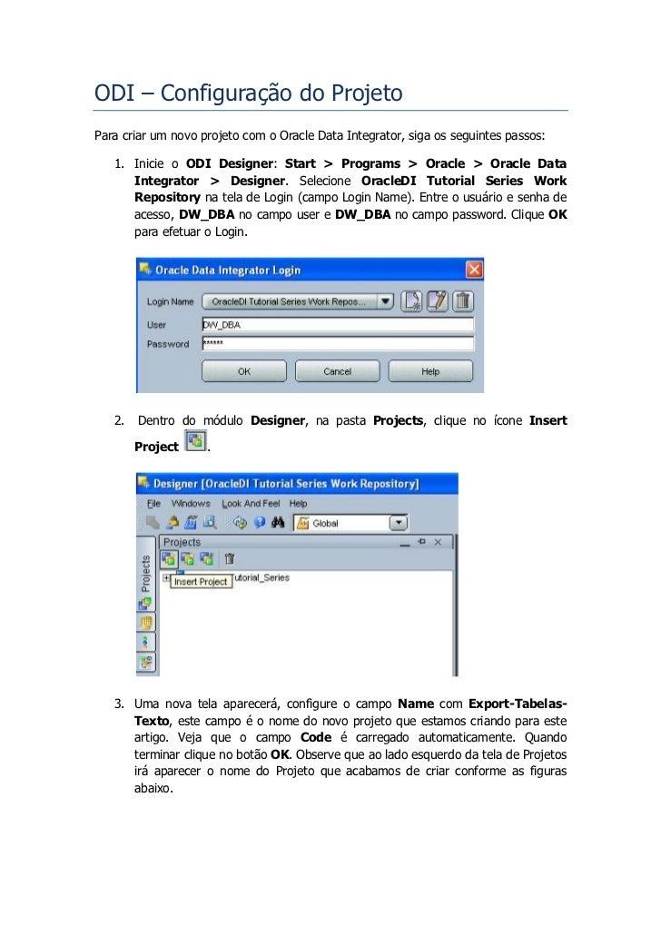 ODI Series -  Exportar Tabelas para Arquivo Texto Slide 3