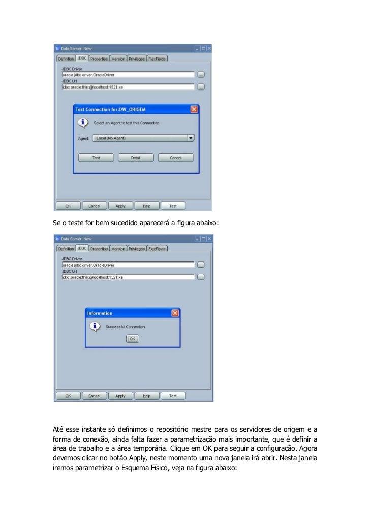 Se o teste for bem sucedido aparecerá a figura abaixo:Até esse instante só definimos o repositório mestre para os servidor...