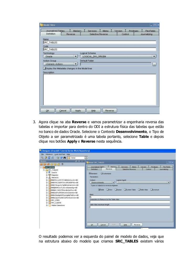 ODI Tutorial - Modelo de Dados Slide 3