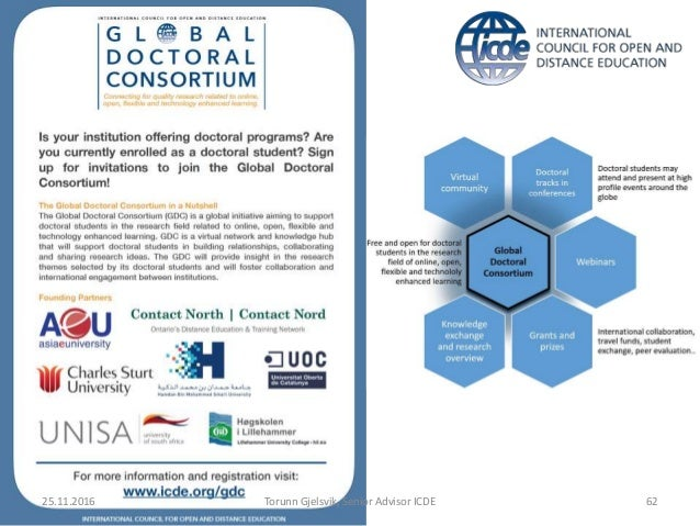 Global trends in Online, Open and Flexible education
