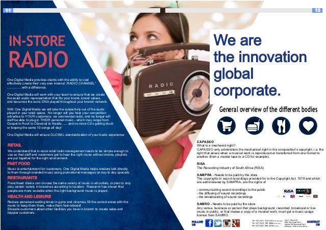 One Digital Media Company Profile