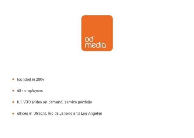ODMedia presentation 2013 Slide 2