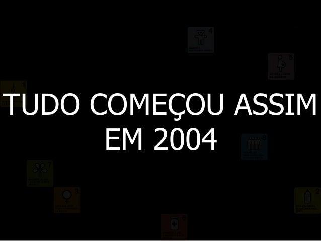 TUDO COMEÇOU ASSIM EM 2004