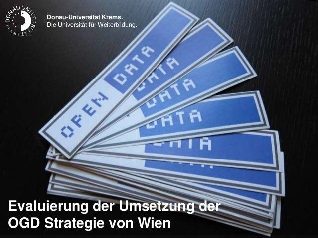 Donau-Universität Krems.     Die Universität für Weiterbildung.                                               Donau-Univer...