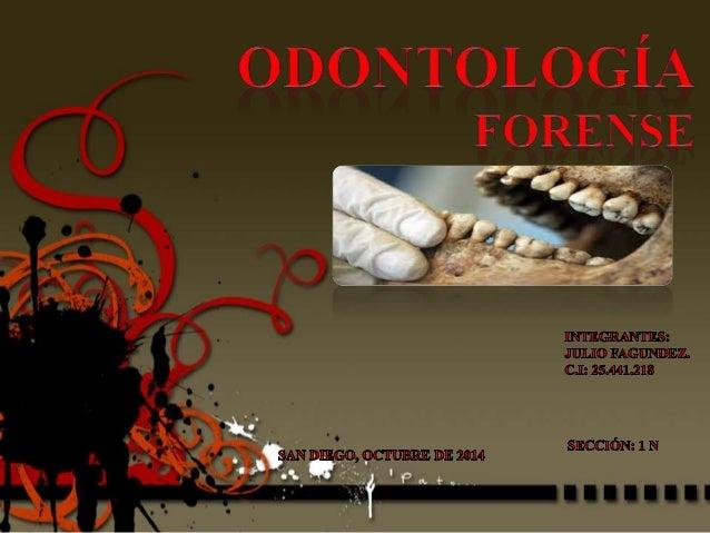 Definición  • Es la ciencia y arte  que propone los  conocimientos  odontológicos en  asistencia y  colaboración en la  ap...
