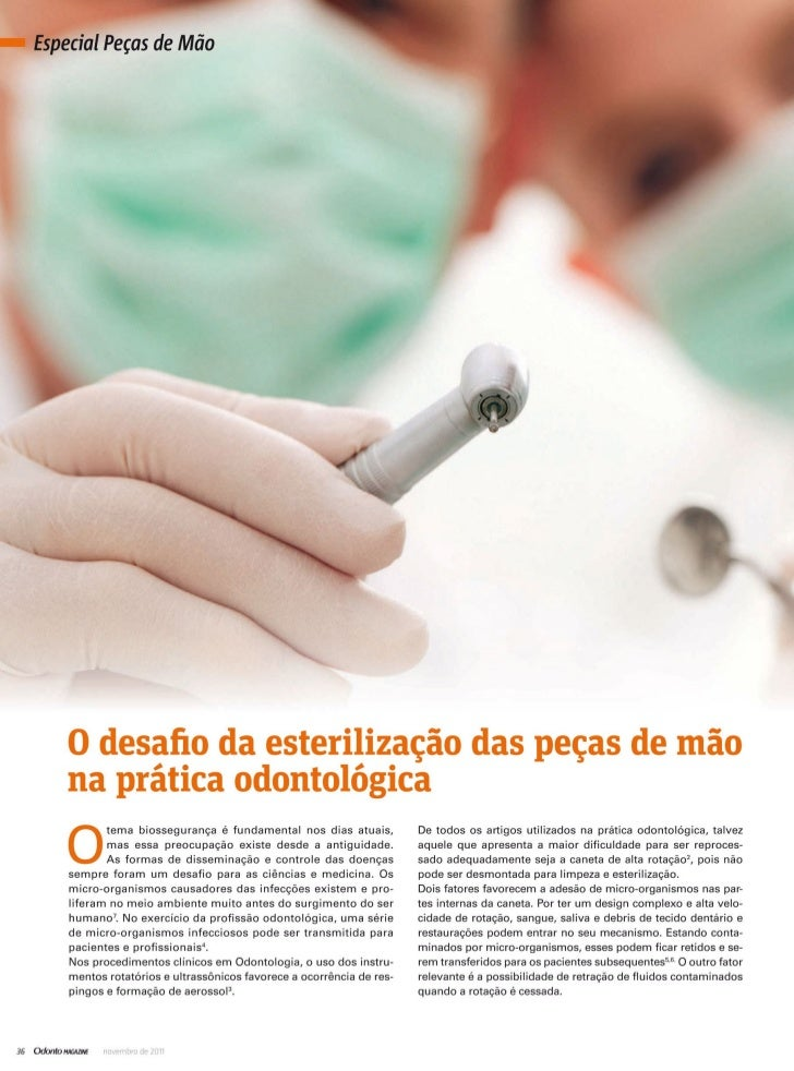 Revista OdontoMagazine - Especial Peças de Mão