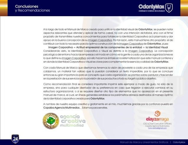OdontyMax - Manual de Marca