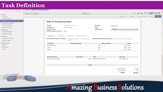 Task Definition Amazing Business Solutions